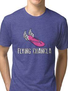 Flying Chancla Tri-blend T-Shirt