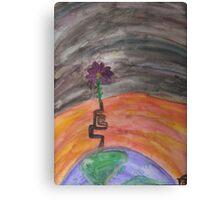 Change Climate Canvas Print