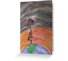 Change Climate Greeting Card