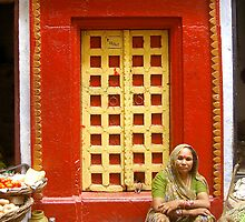 Varanasi Door 6 by elusiveradiance
