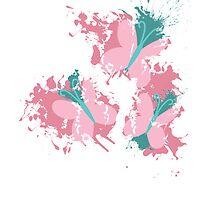 Fluttershy Splatter Mark (MLP:FiM) by pixel-pie-pro
