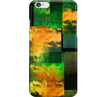 iPhone Case of painting.. Green Miles iPhone Case/Skin