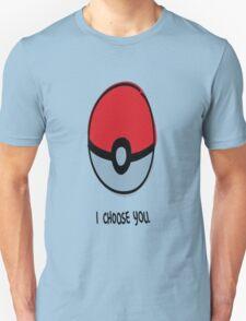 Pokéball - I Choose You T-Shirt