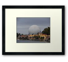 Epcot and World Showcase Framed Print