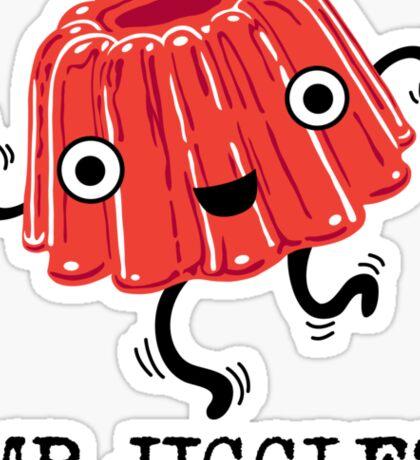 Mr Jiggles - Jello Sticker