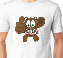 Thumbs up Canadian Beaver Unisex T-Shirt