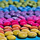 Rainbow Pearls iPhone Case by Denise Ab