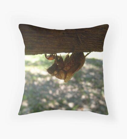 Exoskeleton Throw Pillow