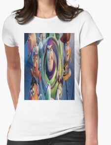 Toy Story Womens Fitted T-Shirt