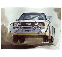 Audi S4 Sport Quattro Poster