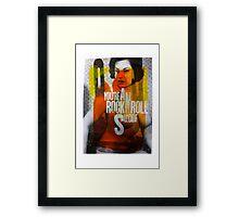 RocknRollSuicide Framed Print