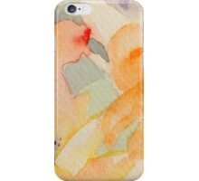 Flowers pastelic abstract iPhone Case/Skin