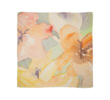 Flowers pastelic abstract Scarf