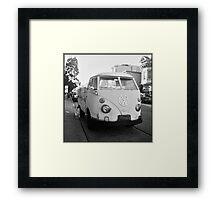 VW Microbus Framed Print
