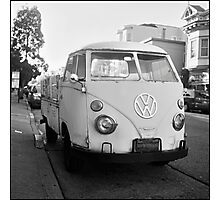 VW Microbus Photographic Print