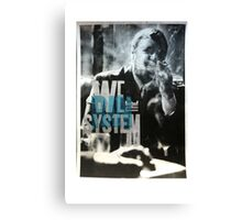 WeRanTheSystem Canvas Print