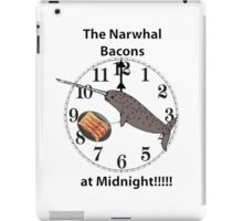 The Narwhal Bacons at Midnight  iPad Case/Skin