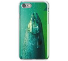 Salmon Underwater iPhone Case/Skin