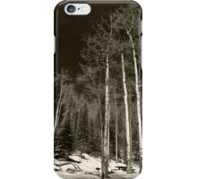 Snow on the Mountain iPhone Case/Skin