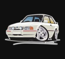 Ford Escort XR3i White One Piece - Short Sleeve