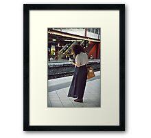 travel & literature  Framed Print