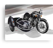 BMW Motorbike Canvas Print