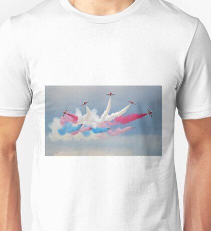 The Red Arrows - Detanator - Dunsfold 2014 Unisex T-Shirt