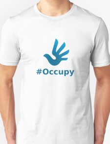 Occupy with HR Dove Logo Unisex T-Shirt