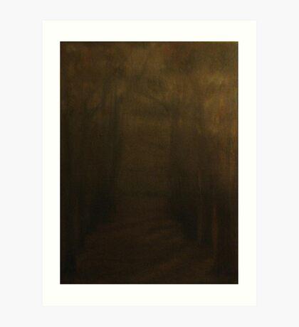 Trees -Jardin du Luxembourg Art Print