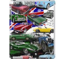 British Sports Cars iPad Case/Skin
