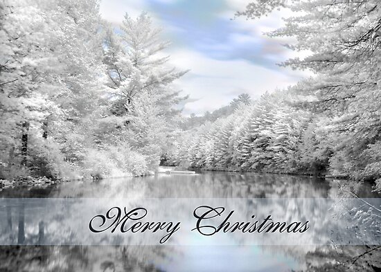 Merry Christmas - Lykens Reservoir by Lori Deiter