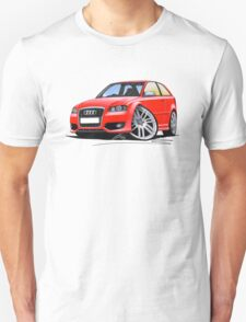 Audi S3 (Mk2) Red T-Shirt