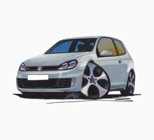VW Golf (Mk6) GTi Silver by Richard Yeomans