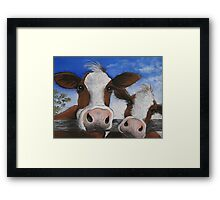 """"""" The Grass is Greener """" Framed Print"""