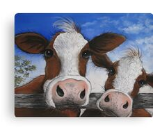 """ The Grass is Greener "" Canvas Print"