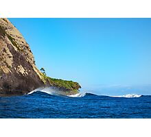 Secluded Point break Photographic Print