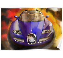 Bugatti Veron Vitesse Poster