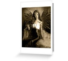 "Angel Series I - ""Soullight Mirrors"" Greeting Card"