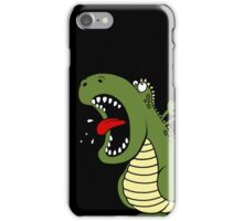 Dino Roar - Black iPhone Case/Skin