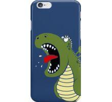 Dino Roar - Blue iPhone Case/Skin