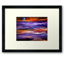 Heavenly Abode Framed Print