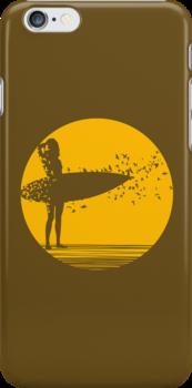 Surfer Girl II by Ross Robinson