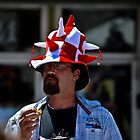 Canada Day Hatter by Stephen  Saysell