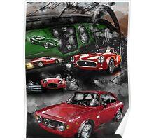 Historic Car Art Poster