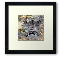 On Main Street Framed Print