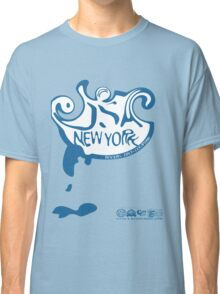 usa new york logo by rogers bros Classic T-Shirt