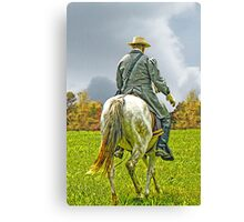 The Long Ride Canvas Print