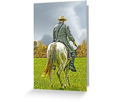 The Long Ride Greeting Card