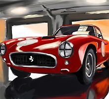 Ferrari by Race by RDisegno