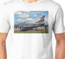 Sabre-Dog on display Unisex T-Shirt